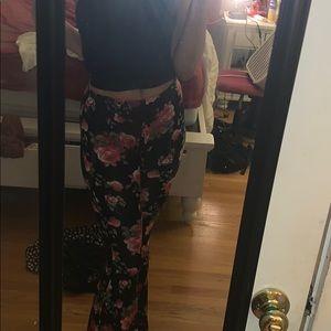 Soft yoga flare pants